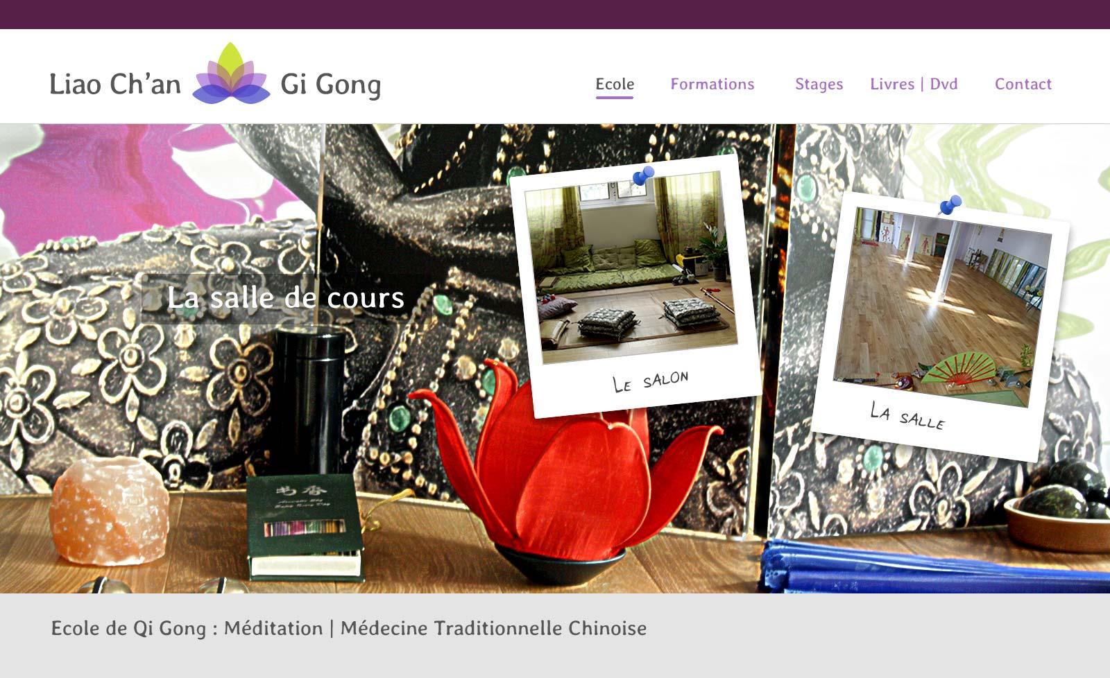 site internet Ecole Qi gong